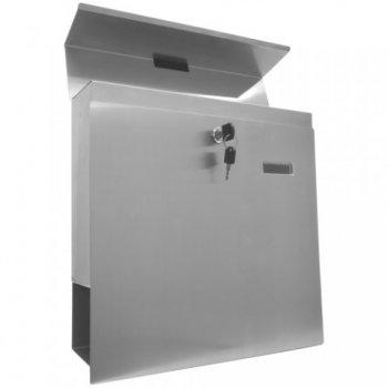 Nástěnná poštovní schránka z ušlechtilé oceli M02646