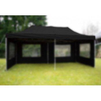 Střecha k zahradnímu stanu - 3x6m - černá D06158