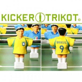Náhradní fotbalové dresy Brazílie 11 ks