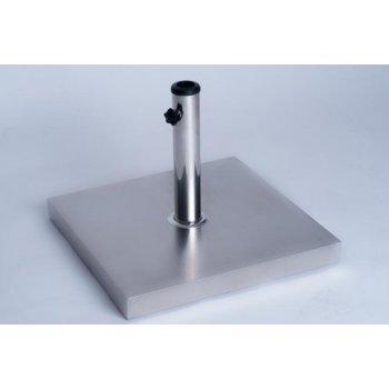 Stojan na slunečníky z nerez oceli 25 kg D27433