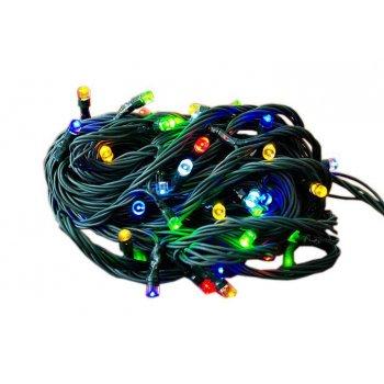 Zahradní světelný řetěz Garth - 50x LED dioda - barevná D00277