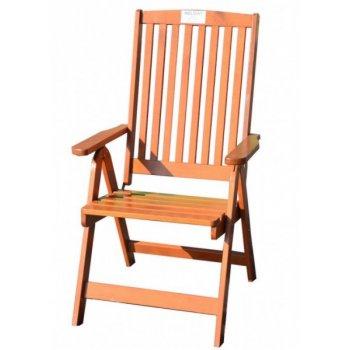 Zahradní skládací židle HOLIDAY lakované FSC R02700