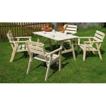 Zahradní dřevěný set SAHARA R07120