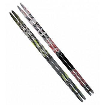 Běžecké lyže s vázáním NNN - 170 cm, hladké i šupiny AC05429