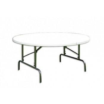 Skládací zahradní stůl - kulatý D06003