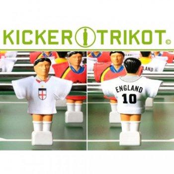 Náhradní fotbalové dresy Anglie 11 ks 90% bavlna M01475